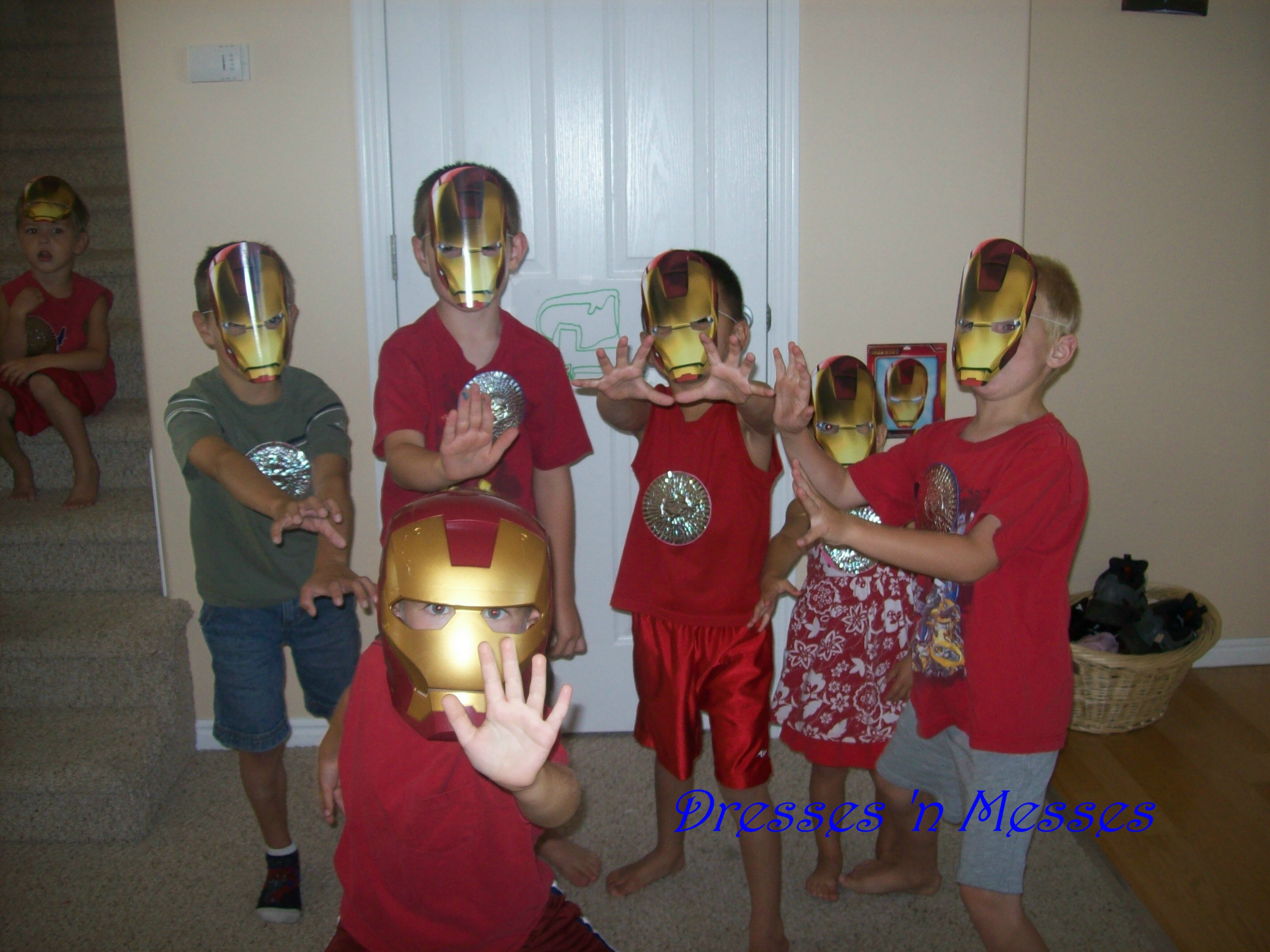 Birthday Ideas Iron Man Party Dresses n Messes