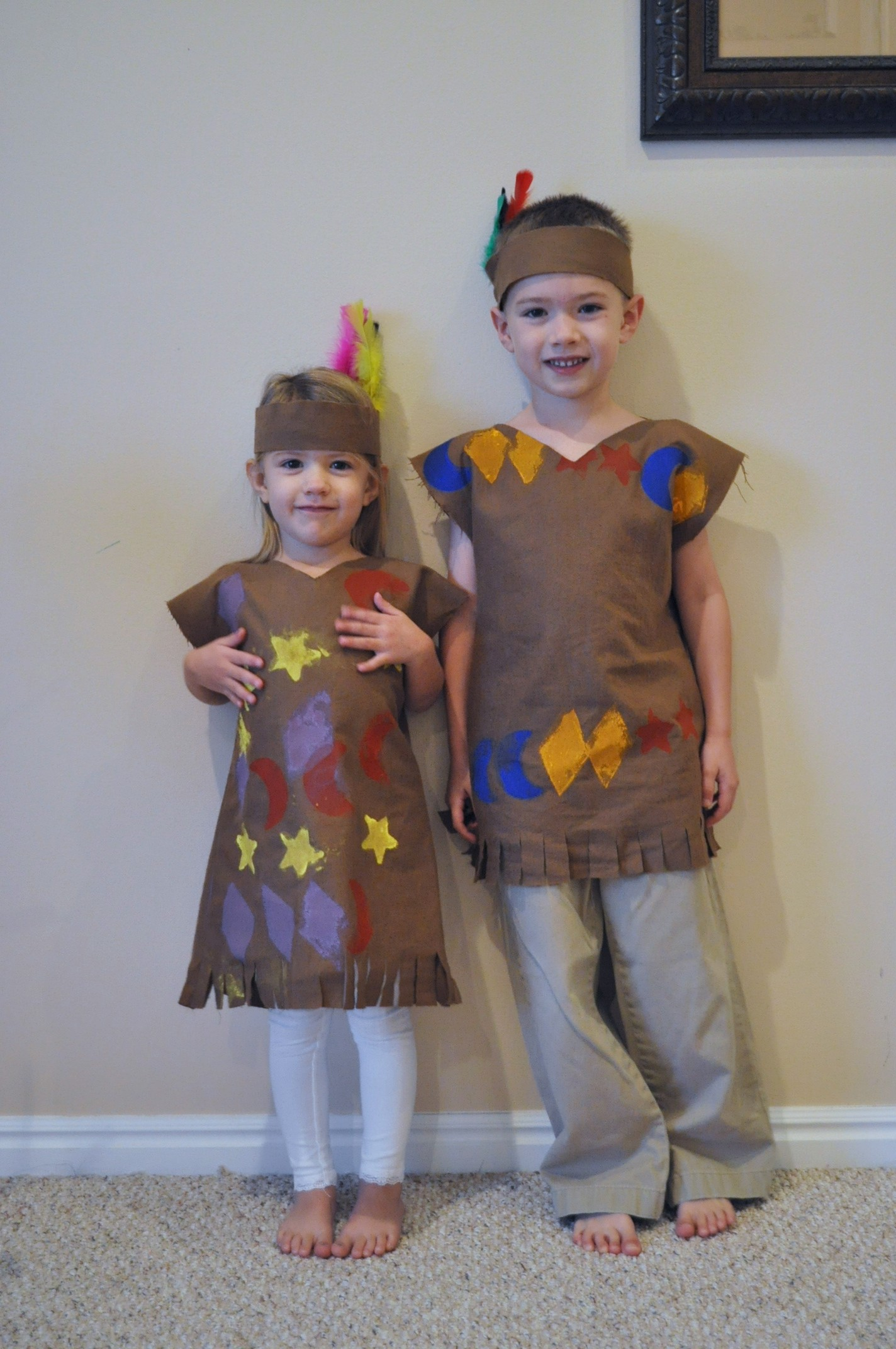 Homemade Indian Girl Costume