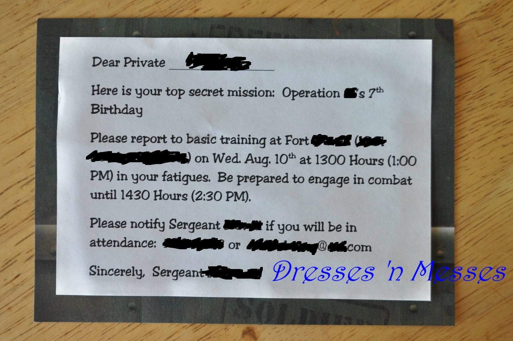 10 Year Old Birthday Invitation Wording