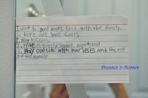 Written by my 2nd grader