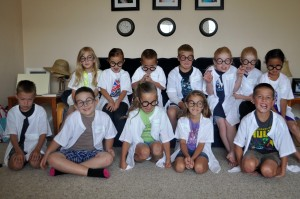 The mad scientists!